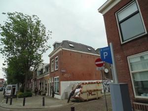 dakpannen antraciet pand Utrecht